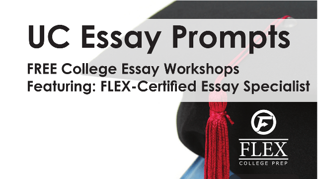 College Application & Essay Workshops