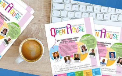 FLEX Open House! Back to High School: Planning Academics & Activities
