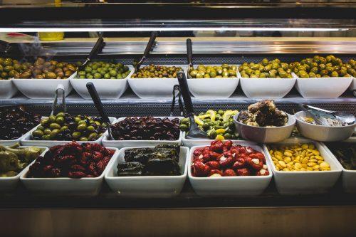 college campus visit eat in the cafeteria