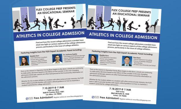 Athletics in College Admission
