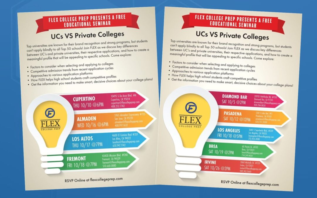 UC's VS Private Colleges