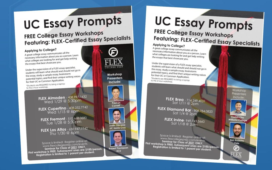 UC Essay Prompts (Free College Essay Workshop)