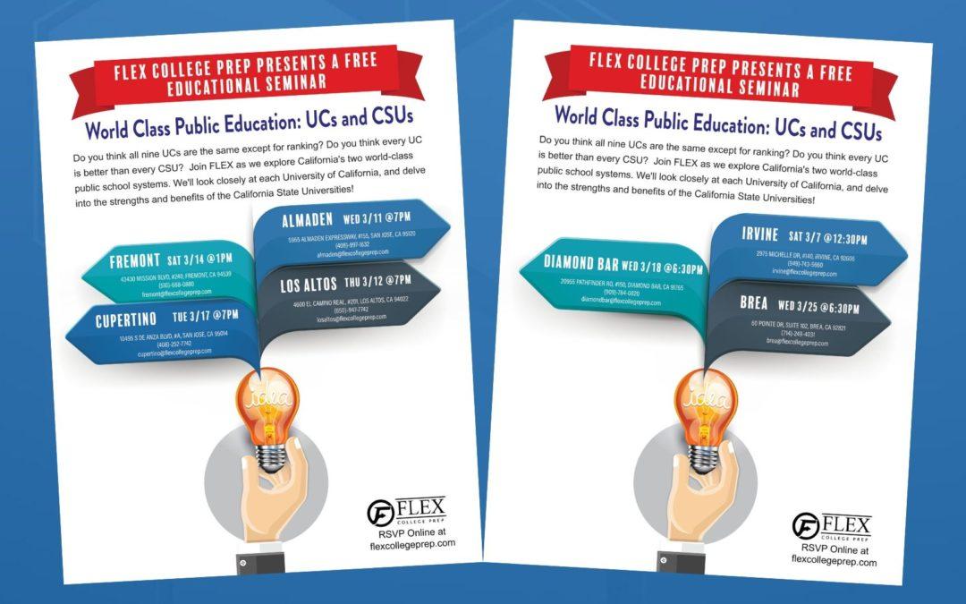 World Class Public Education: UCs and CSUs (2020)